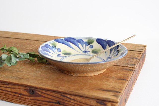 7寸皿 唐草 ゴスオーグスヤ 陶器 陶芸こまがた 駒形爽飛 やちむん 画像3