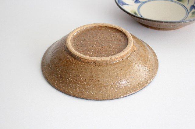 7寸皿 唐草 ゴスオーグスヤ 陶器 陶芸こまがた 駒形爽飛 やちむん 画像6