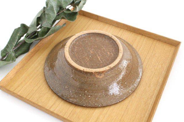 7寸皿 デイゴ ゴスオーグスヤ 陶器 陶芸こまがた 駒形爽飛 やちむん 画像4