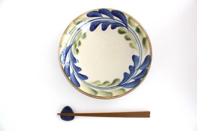 7寸皿 デイゴ ゴスオーグスヤ 陶器 陶芸こまがた 駒形爽飛 やちむん 画像5