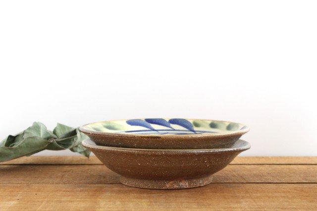 7寸皿 デイゴ ゴスオーグスヤ 陶器 陶芸こまがた 駒形爽飛 やちむん 画像6