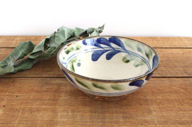 6寸鉢 デイゴ ゴスオーグスヤ 陶器 陶芸こまがた 駒形爽飛 やちむん