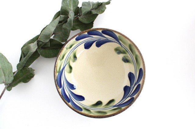 6寸鉢 デイゴ ゴスオーグスヤ 陶器 陶芸こまがた 駒形爽飛 やちむん 画像2