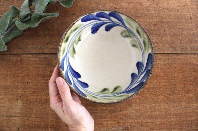 6寸鉢 デイゴ ゴスオーグスヤ 陶器 陶芸こまがた 駒形爽飛 やちむん 画像6