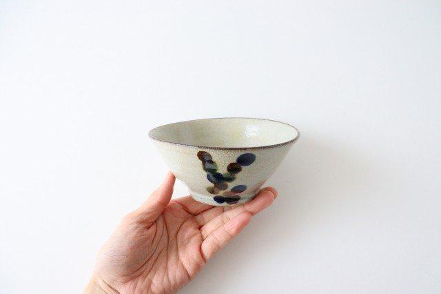 マカイ 4寸 連ドット 陶器 mug やちむん 画像3