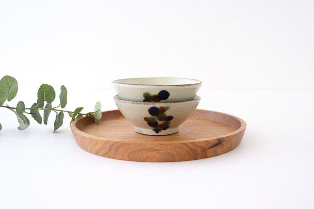 マカイ 4寸 連ドット 陶器 mug やちむん 画像5