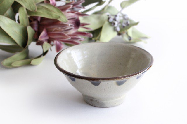 4寸マカイ 3色ドット 陶器 mug やちむん
