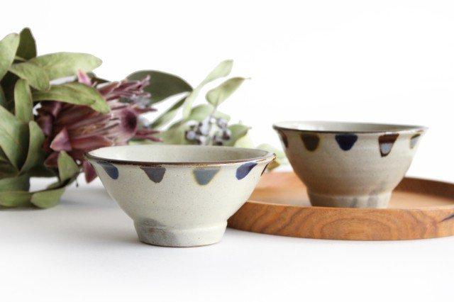 マカイ 4寸 3色ドット 陶器 mug やちむん 画像2