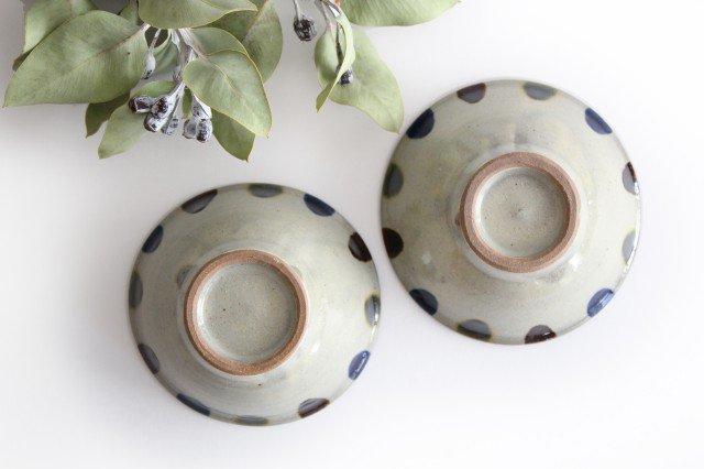 4寸マカイ 3色ドット 陶器 mug やちむん 画像3