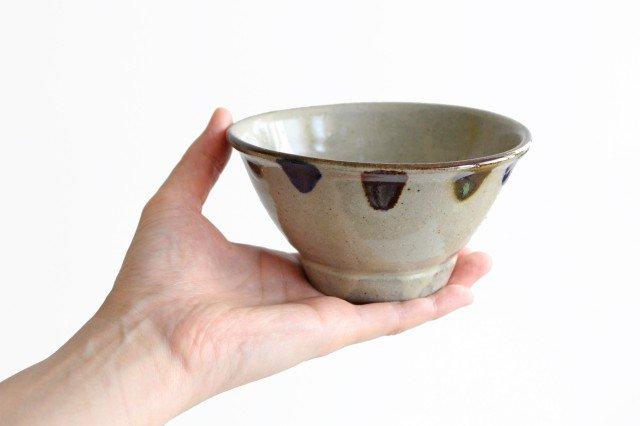 4寸マカイ 3色ドット 陶器 mug やちむん 画像6