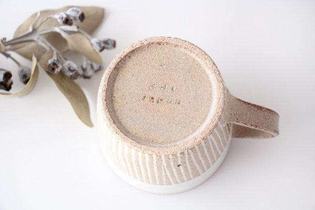 マグカップ ナチュラル 陶器 松葉象がん 美濃焼 画像3