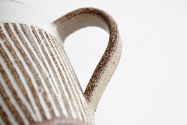 マグカップ ナチュラル 陶器 松葉象がん 美濃焼 画像5