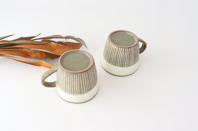 マグカップ 松葉象がん ブラウン 陶器 美濃焼 画像4