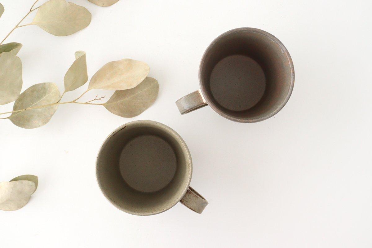 マグカップ 松葉象がん ブラウン 陶器 美濃焼 画像5