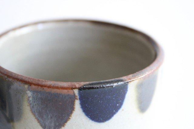 コーヒーカップ 3色ドット 陶器 mug やちむん 画像2