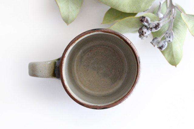 コーヒーカップ 3色ドット 陶器 mug やちむん 画像6