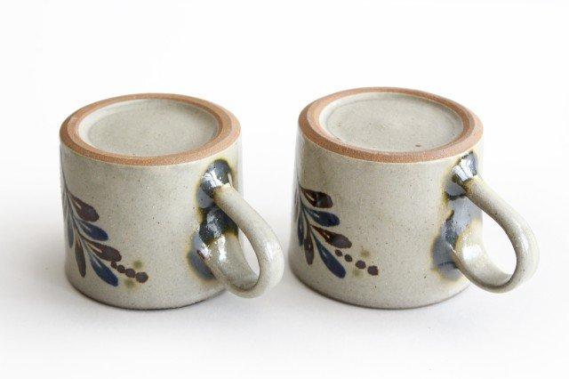 コーヒーカップ ゲットウ 陶器 mug やちむん 画像3