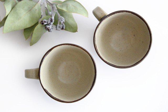 ティーカップ 連ドット 陶器 mug やちむん 画像2