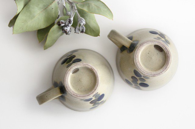 ティーカップ 連ドット 陶器 mug やちむん 画像4