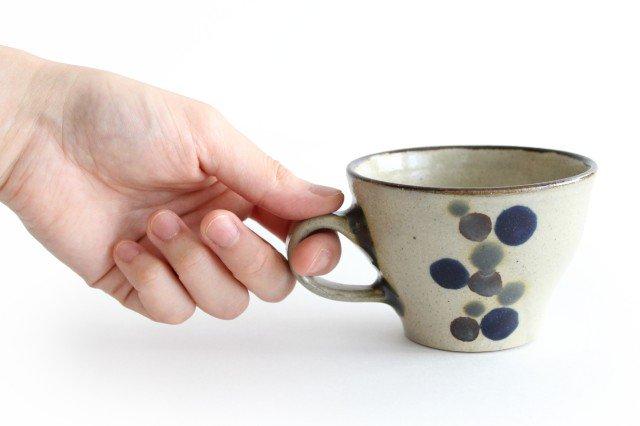 ティーカップ 連ドット 陶器 mug やちむん 画像5