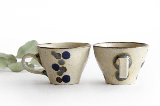 ティーカップ 連ドット 陶器 mug やちむん 画像6