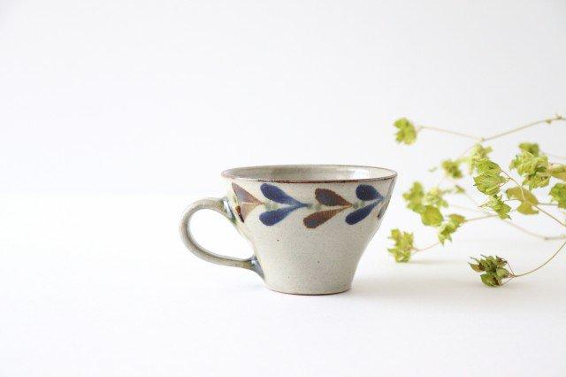 ティーカップ デイゴ 陶器 mug やちむん
