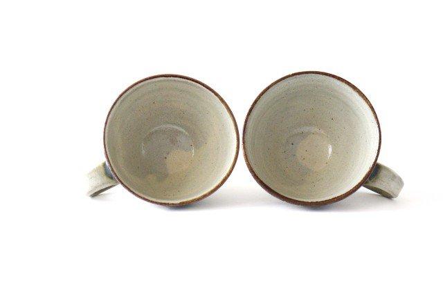 ティーカップ デイゴ 陶器 mug やちむん 画像2