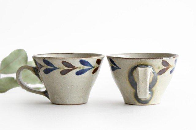 ティーカップ デイゴ 陶器 mug やちむん 画像4