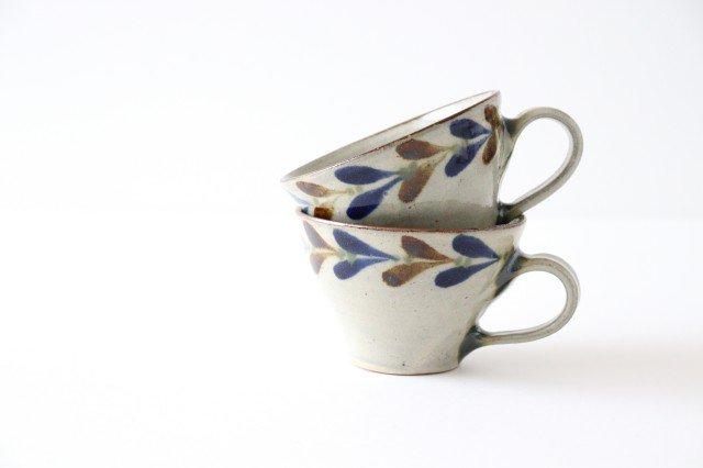 ティーカップ デイゴ 陶器 mug やちむん 画像5