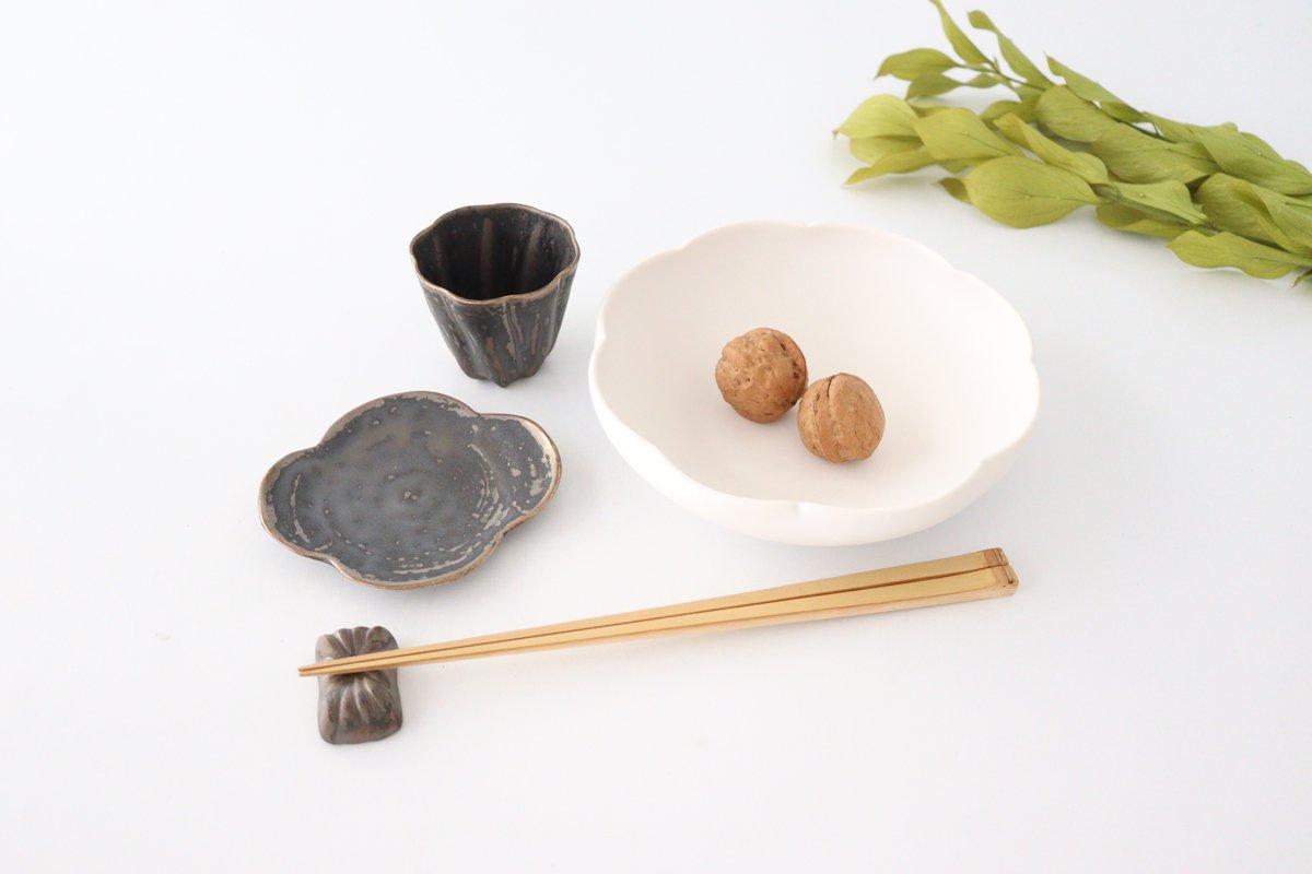 カヌレ茶器 茶杯 ブロンズ 磁器 藤村佳澄 画像6