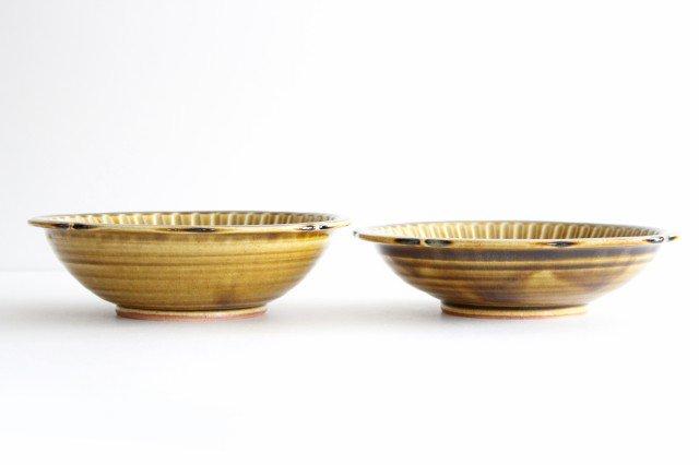 輪花鉢 飴釉 【B】 陶器 はなクラフト 画像3