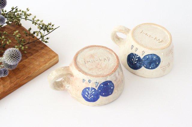 雫の森 スープカップ 森の生活 陶器 こむろしずか 画像5