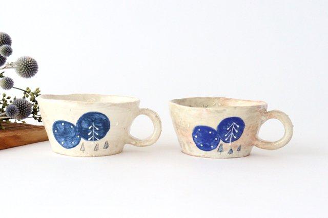 雫の森 スープカップ 森の生活 陶器 こむろしずか 画像6