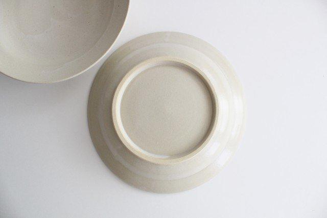 スープリム皿 白せと 陶器 青人窯 大山 育男 画像2