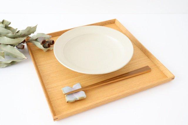 スープリム皿 白せと 陶器 青人窯 大山 育男 画像6