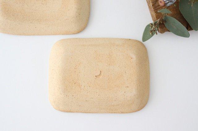 雫の森 小皿 群青の森 陶器 こむろしずか 画像2
