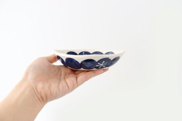 雫の森 レモン型小皿 群青の森 陶器 こむろしずか 画像5
