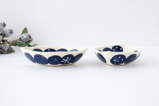 雫の森 レモン型小皿 群青の森 陶器 こむろしずか 画像6