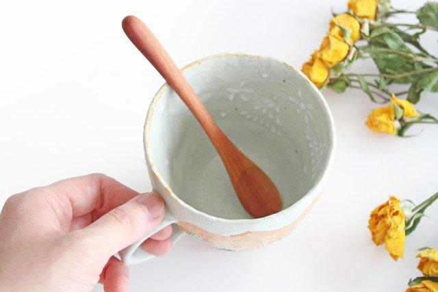 雫の森 マグカップ 高い空 【A】 陶器 こむろしずか 画像6
