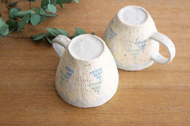 雫の森 マグカップ 高い空 【C】 陶器 こむろしずか 画像4