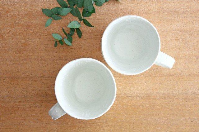 雫の森 マグカップ 高い空 【C】 陶器 こむろしずか 画像6
