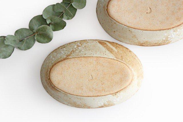 雫の森 耐熱楕円皿 冬の森 【A】 陶器 こむろしずか 画像6
