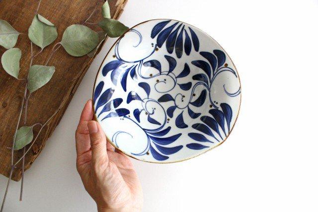 karakusa なぶり中鉢 陶器 波佐見焼 画像3