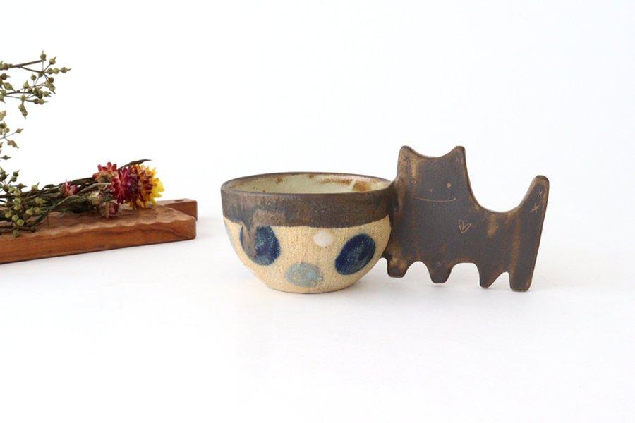 マグカップ ネコ 陶器 土の種 やちむん