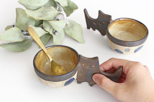 マグカップ ネコ 陶器 土の種 やちむん 画像3