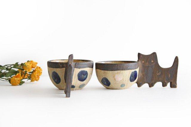 マグカップ ネコ 陶器 土の種 やちむん 画像4