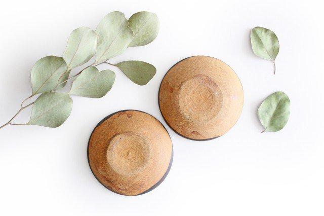 チョウ小皿 トルコブルー 陶器 土の種 やちむん 画像6