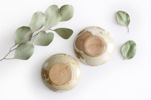 チョウ小皿 スカイブルー 陶器 土の種 やちむん 画像5