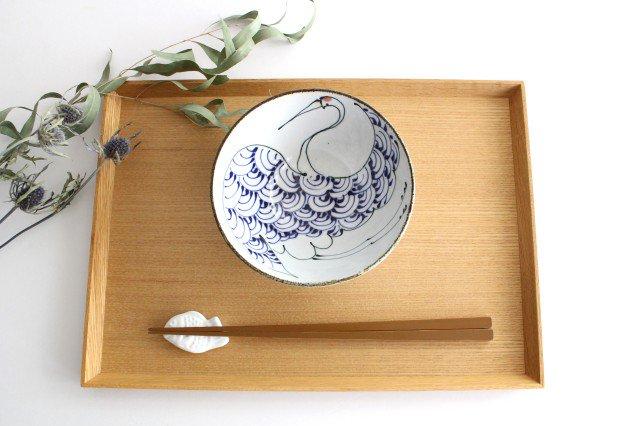 くらわんか碗 鶴 陶器 kotohogi 波佐見焼 画像3
