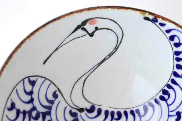 kotohogi くらわんか碗 鶴 陶器 波佐見焼 画像5